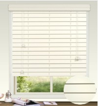 50mm Embossed Fauxwood Venetian Blind with Crown Valance