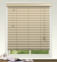 50mm Plain Fauxwood Venetian Blind with Regular Valance