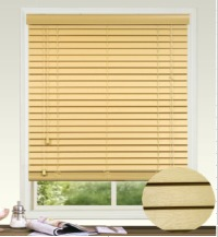 35mm Embossed Fauxwood Venetian Blind with Regular Valance