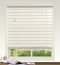 63mm Plain Fauxwood Venetian Blind with Regular Valance